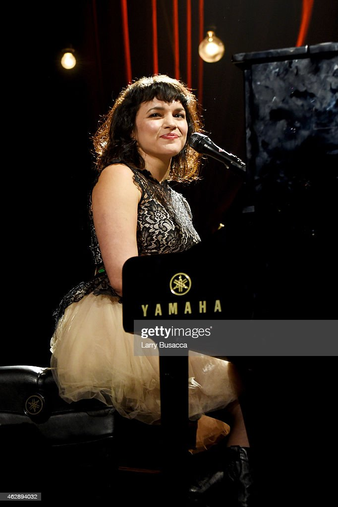 Musician <a gi-track='captionPersonalityLinkClicked' href=/galleries/search?phrase=Norah+Jones&family=editorial&specificpeople=203151 ng-click='$event.stopPropagation()'>Norah Jones</a> performs onstage at the 25th anniversary MusiCares 2015 Person Of The Year Gala honoring Bob Dylan at the Los Angeles Convention Center on February 6, 2015 in Los Angeles, California. The annual benefit raises critical funds for MusiCares' Emergency Financial Assistance and Addiction Recovery programs. For more information visit musicares.org.