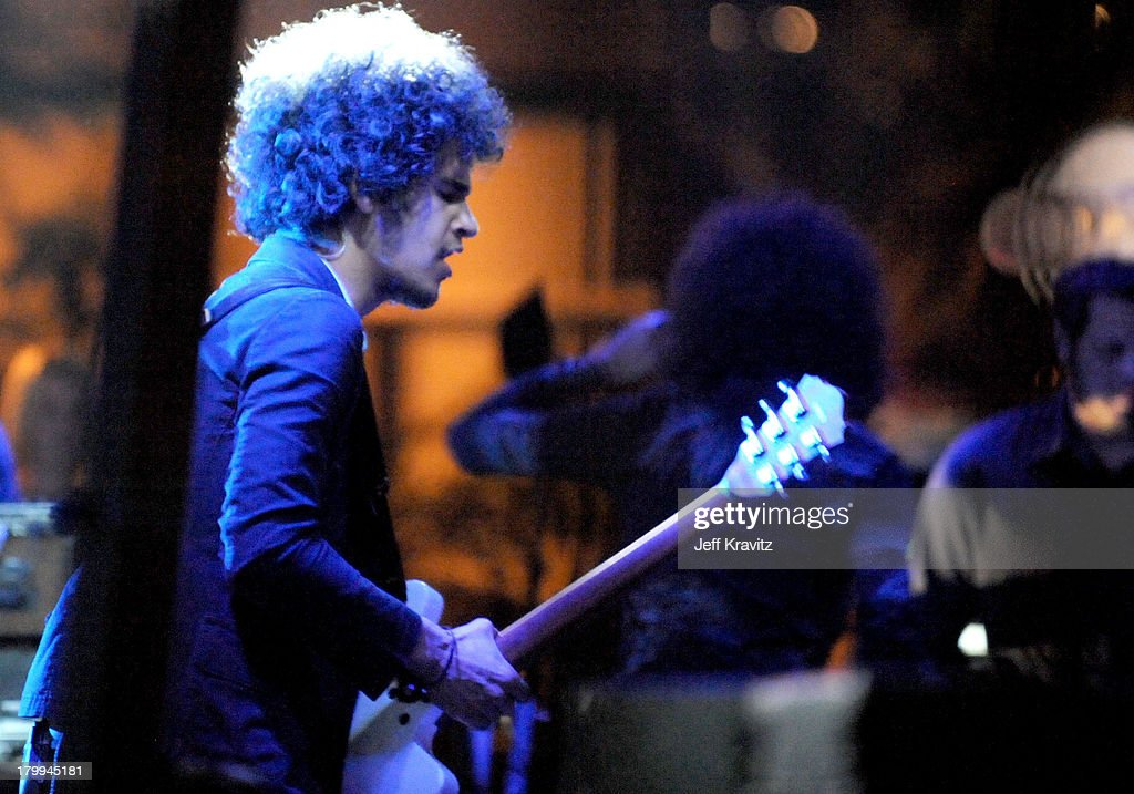 Musician Omar Rodriguez-Lopez of The Mars Volta performs at the 2008 Detour Festival on October 4, 2008 in Los Angeles, California.