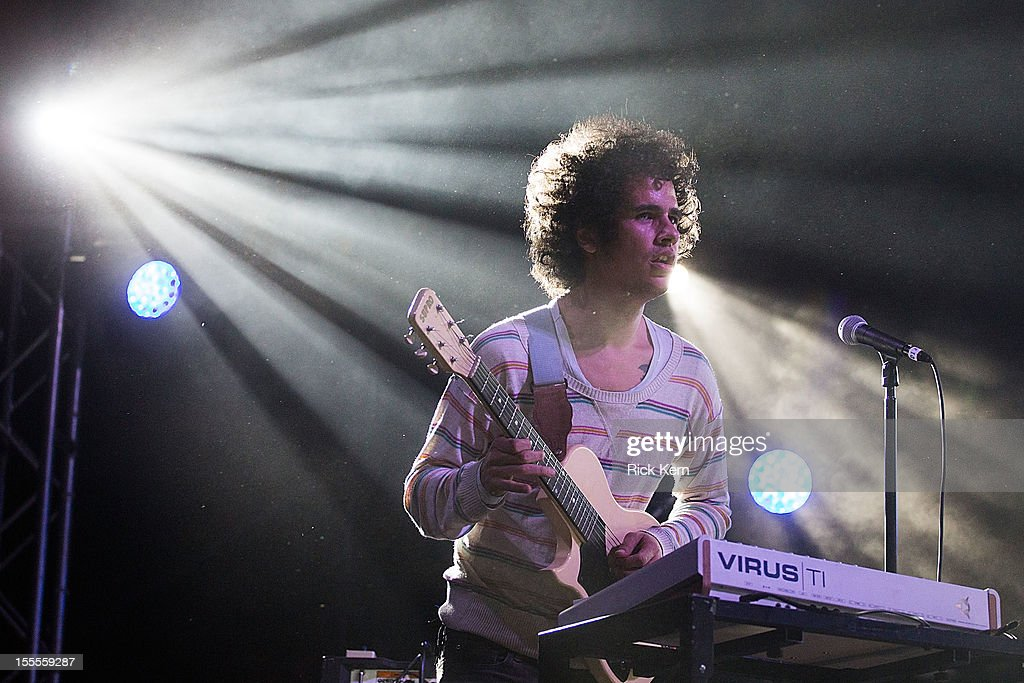 Musician Omar Rodriguez-Lopez performs in concert during day three of Fun Fun Fun Fest at Auditorium Shores on November 4, 2012 in Austin, Texas.