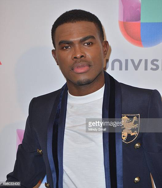 Musician OMI poses in the press room during the 16th Latin GRAMMY Awards at the MGM Grand Garden Arena on November 19 2015 in Las Vegas Nevada