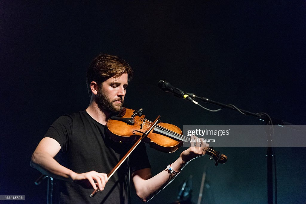 Musician Owen Pallett performs onstage at El Rey Theatre on September 13 2014 in Los Angeles California