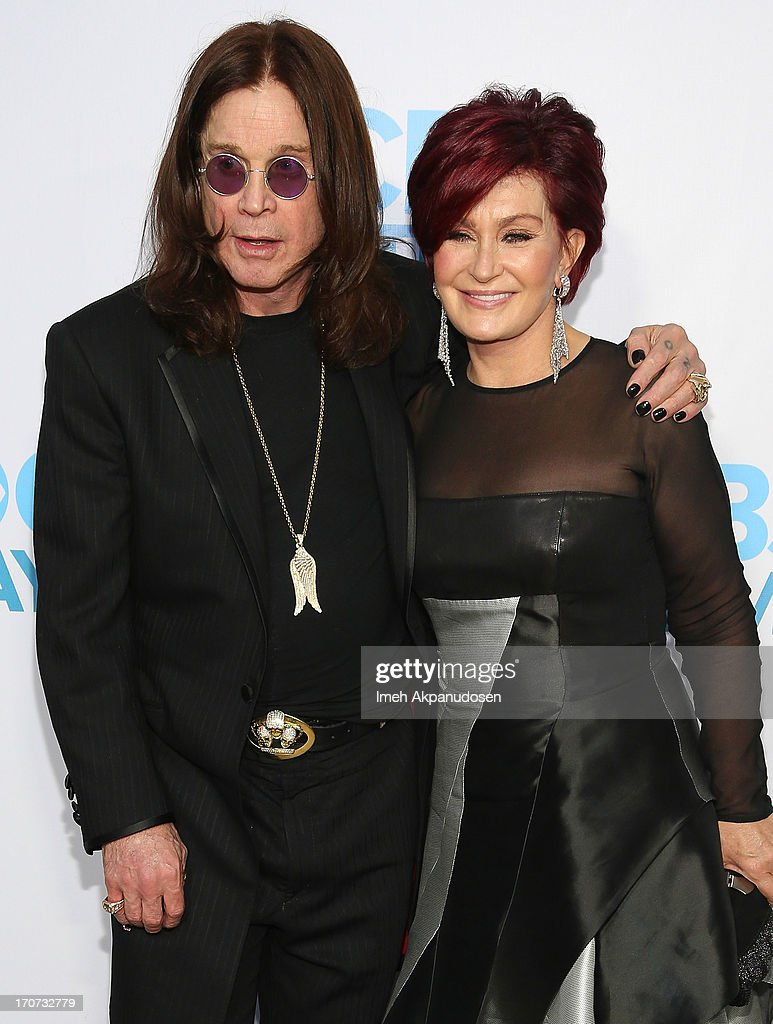 Musician <a gi-track='captionPersonalityLinkClicked' href=/galleries/search?phrase=Ozzy+Osbourne&family=editorial&specificpeople=138608 ng-click='$event.stopPropagation()'>Ozzy Osbourne</a> (L) and television personality <a gi-track='captionPersonalityLinkClicked' href=/galleries/search?phrase=Sharon+Osbourne&family=editorial&specificpeople=203094 ng-click='$event.stopPropagation()'>Sharon Osbourne</a> attend The 40th Annual Daytime Emmy Awards After Party at The Beverly Hilton Hotel on June 16, 2013 in Beverly Hills, California.