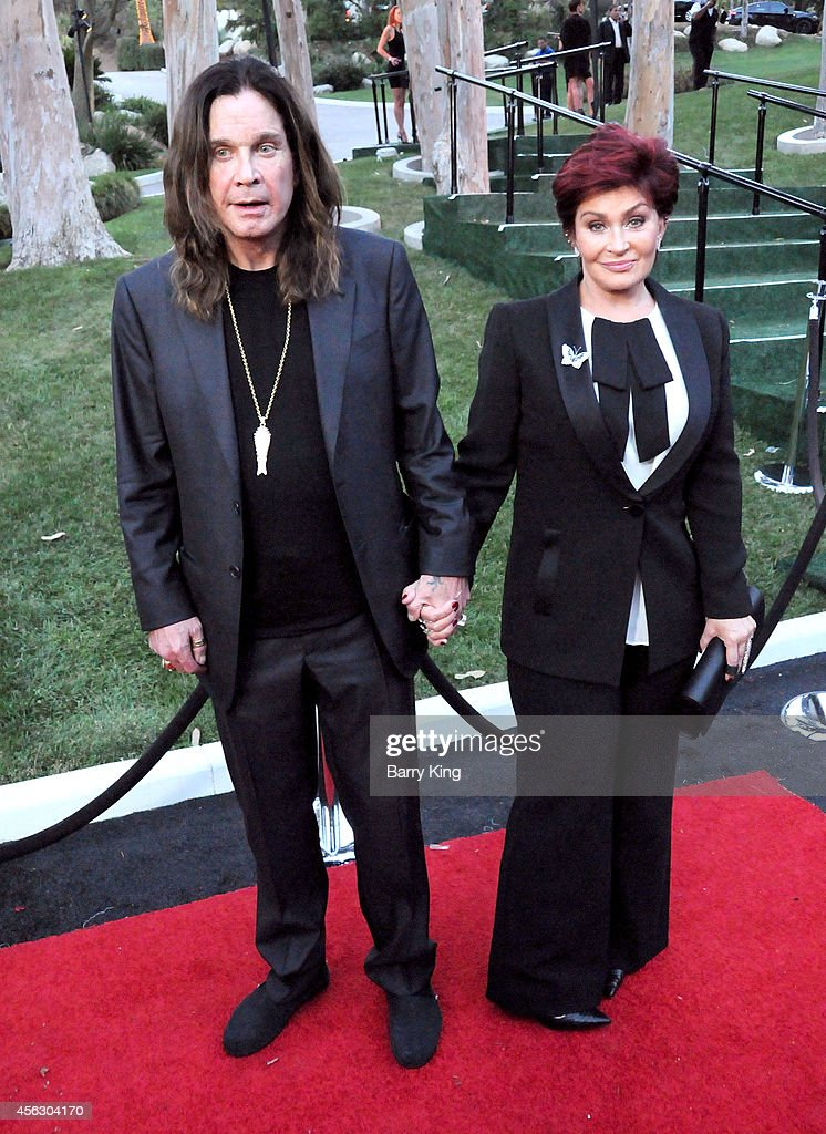 Musician <a gi-track='captionPersonalityLinkClicked' href=/galleries/search?phrase=Ozzy+Osbourne&family=editorial&specificpeople=138608 ng-click='$event.stopPropagation()'>Ozzy Osbourne</a> and tv personality <a gi-track='captionPersonalityLinkClicked' href=/galleries/search?phrase=Sharon+Osbourne&family=editorial&specificpeople=203094 ng-click='$event.stopPropagation()'>Sharon Osbourne</a> attend the annual 'Summer Spectacular Under The Stars' for the Brent Shapiro Foundation for Alchohol and Drug Awareness on September 13, 2014 in Beverly Hills, California.