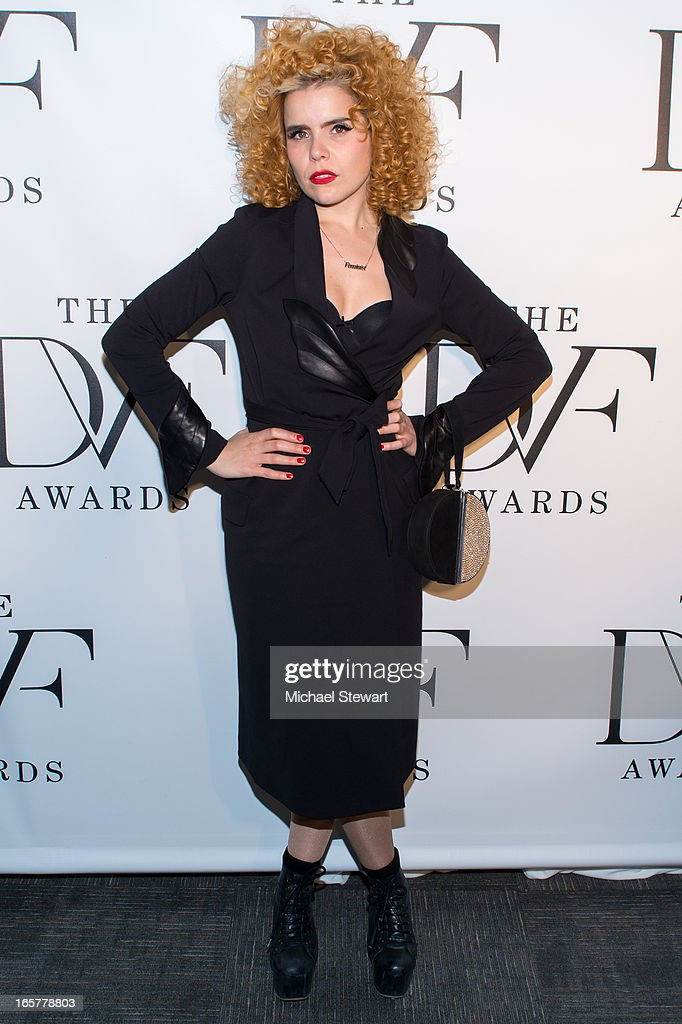 Musician <a gi-track='captionPersonalityLinkClicked' href=/galleries/search?phrase=Paloma+Faith&family=editorial&specificpeople=4214118 ng-click='$event.stopPropagation()'>Paloma Faith</a> attends the 2013 DVF Awards at the United Nations on April 5, 2013 in New York City.
