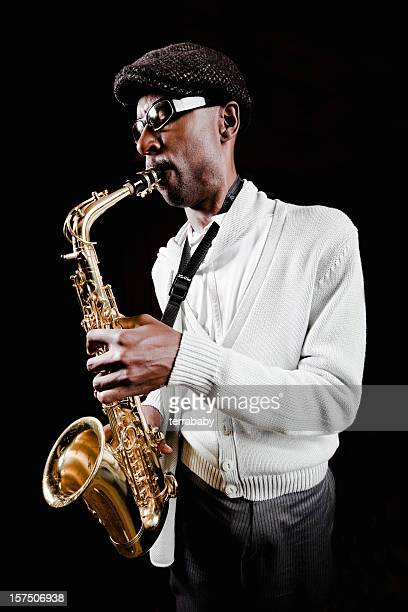 Musician Passionate Saxophone Player