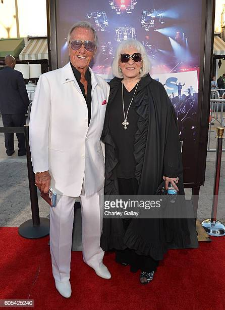 Musician Pat Boone attends the 'Hillsong Let Hope Rise' premiere at the Westwood Village theater on September 13 2016 in Los Angeles California