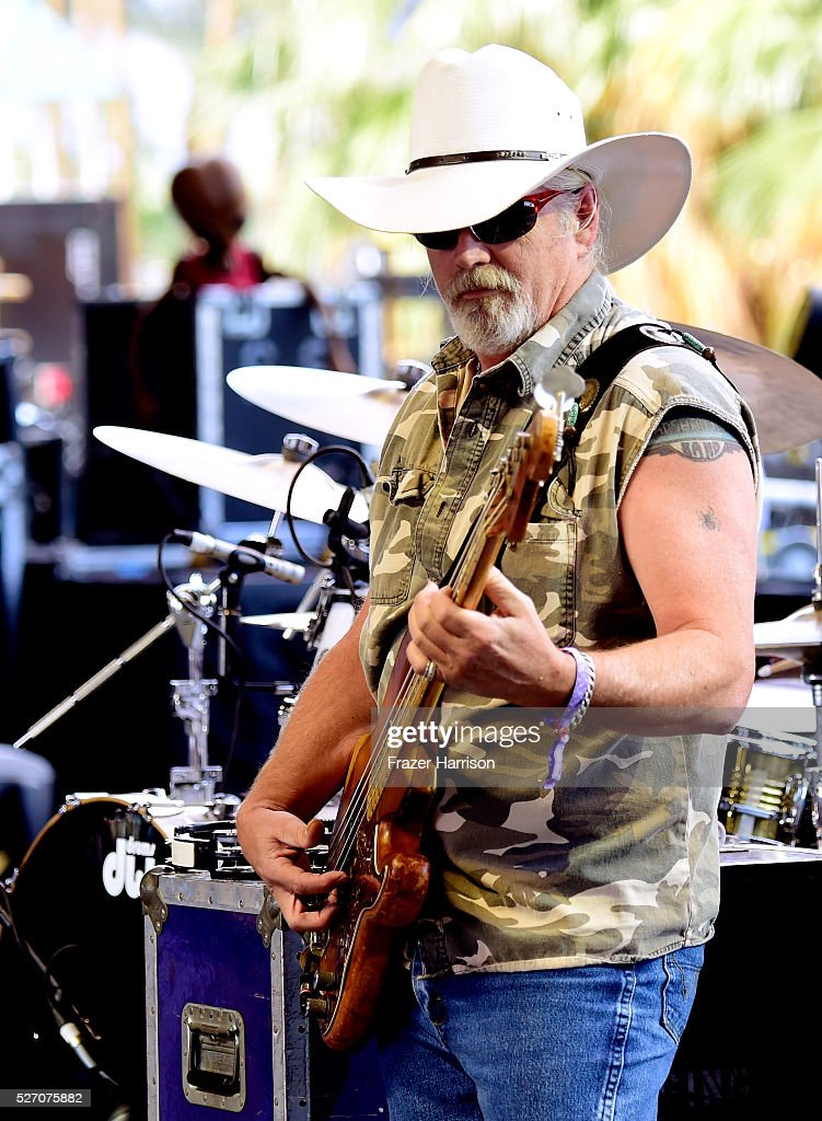 Musician Pat Ellwood of The Marshall Tucker Band performs onstage during 2016 Stagecoach California's Country Music Festival at Empire Polo Club on May 01, 2016 in Indio, California.