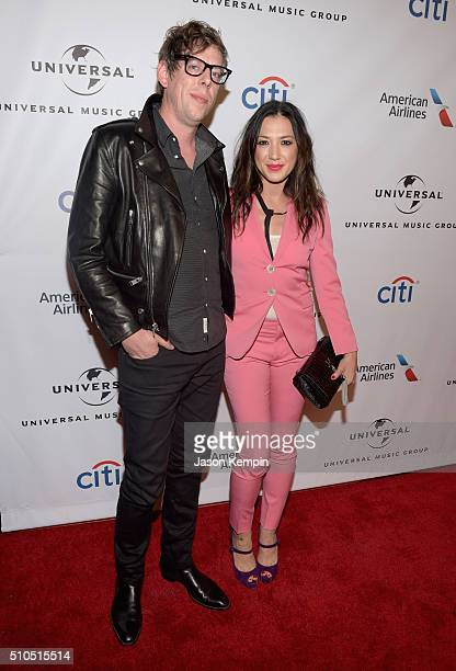 Musician Patrick Carney of The Black Keys and singersongwriter Michelle Branch attend Universal Music Group 2016 Grammy After Party presented by...