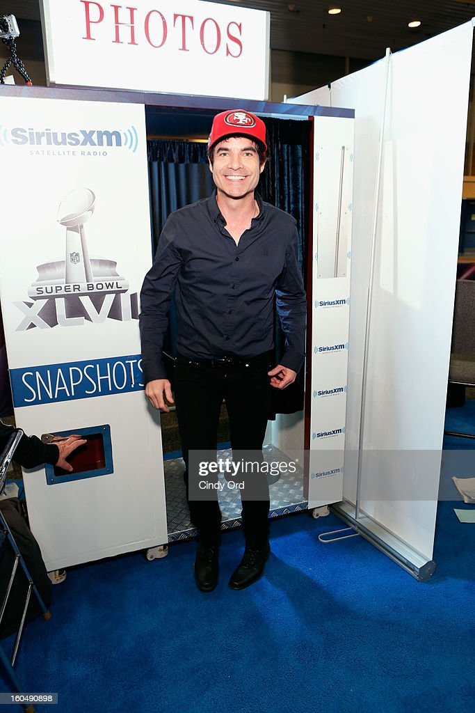 Musician Patrick Monahan attends SiriusXM's Live Broadcast from Radio Row during Bowl XLVII week on February 1, 2013 in New Orleans, Louisiana.