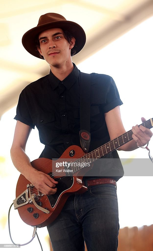 Musician Patrick O'Connor performs onstage during day 3 of 2014 Stagecoach: California's Country Music Festival at the Empire Polo Club on April 27, 2014 in Indio, California.