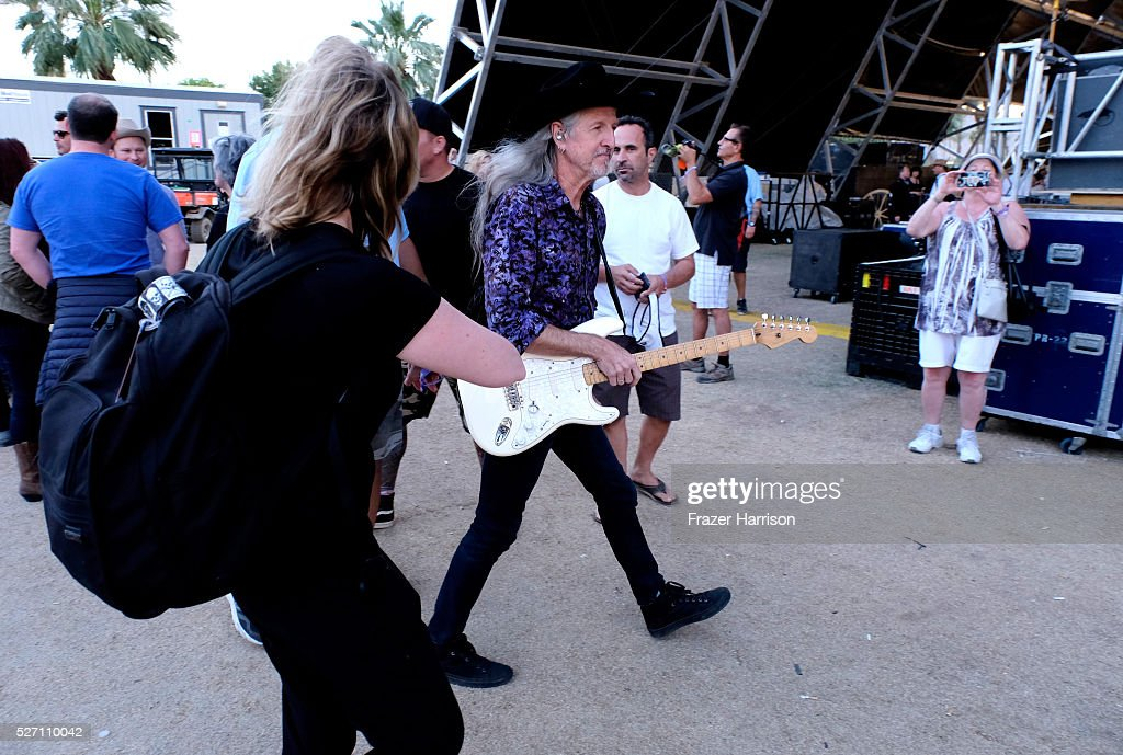 Musician <a gi-track='captionPersonalityLinkClicked' href=/galleries/search?phrase=Patrick+Simmons&family=editorial&specificpeople=3533796 ng-click='$event.stopPropagation()'>Patrick Simmons</a> of The Doobie Brothers is seen backstage during 2016 Stagecoach California's Country Music Festival at Empire Polo Club on May 01, 2016 in Indio, California.