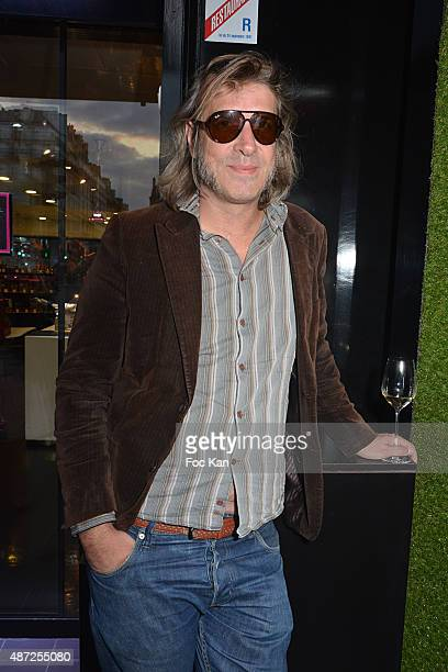 Musician Patrick Woodcock from Mellow electropop band attends the Fauchon Afterwork Rentree du Cap Ferret at Fauchon Madeleine on September 7 2015 in...