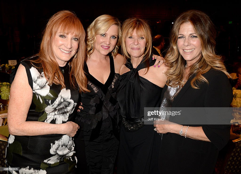 Musician Patti Scialfa, actresses Jessica Capshaw, Kate Capshaw and Rita Wilson attend USC Shoah Foundation's 20th Anniversary Gala at the Hyatt Regency Century Plaza on May 7, 2014 in Century City, California.
