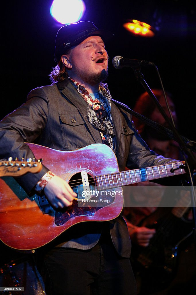 Musician Paul Chesne performs onstage at El Cid on November 15, 2013 in Los Angeles, California.