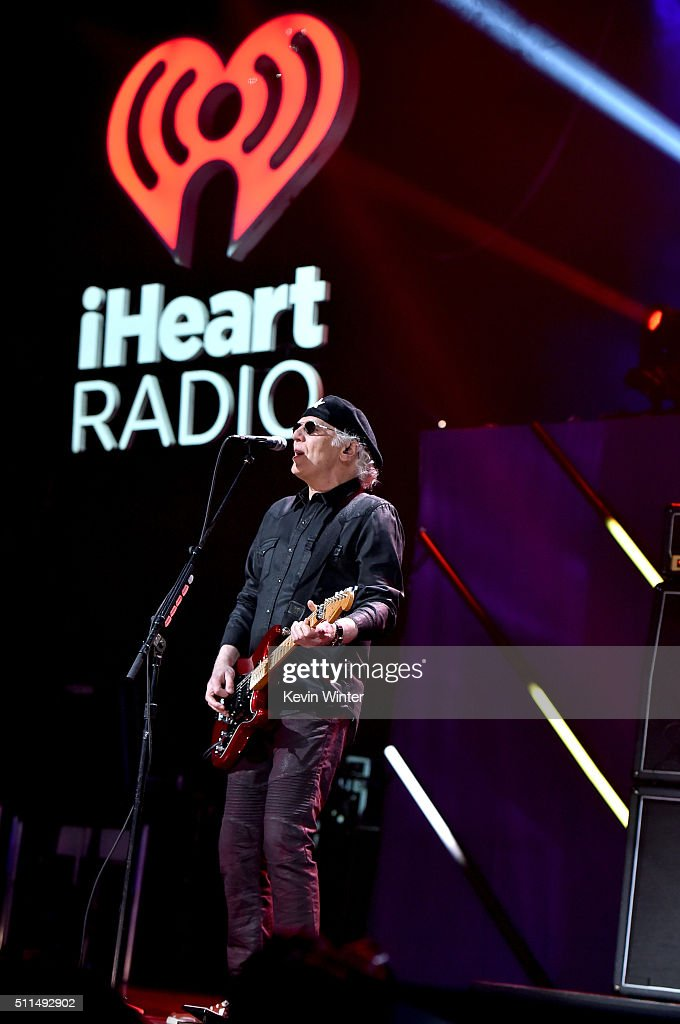 Musician Paul Dean of Loverboy performs onstage during the first ever iHeart80s Party at The Forum on February 20 2016 in Inglewood California