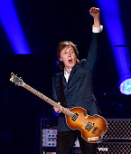 Musician Paul McCartney performs at PETCO Park on September 28 2014 in San Diego California