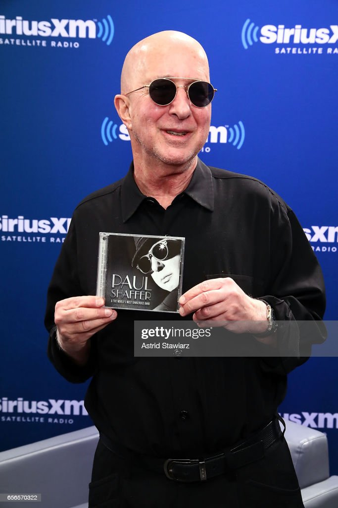 "Paul Shaffer Discusses His New Album During A SiriusXM ""Unmasked"" Event With Host Ron Bennington"
