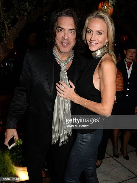 Musician Paul Stanley and Erin Sutton attend the Teen Cancer America Fundraiser hosted by Darren Strowger Roger Daltrey and Rebecca Rothstein on...