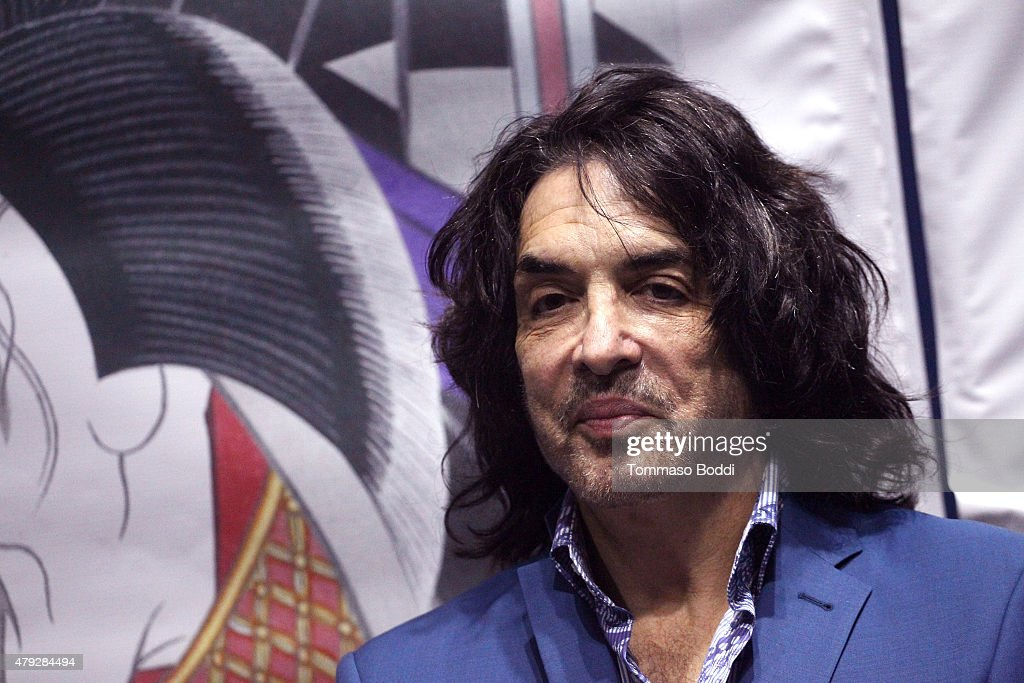 Musician Paul Stanley attends the press conference and concert hosted by KISS members Gene Simmons and Paul Stanley for Japanese Pop Group Momoiro Clover Z (MCZ) held at Microsoft Theater on July 2, 2015 in Los Angeles, California.