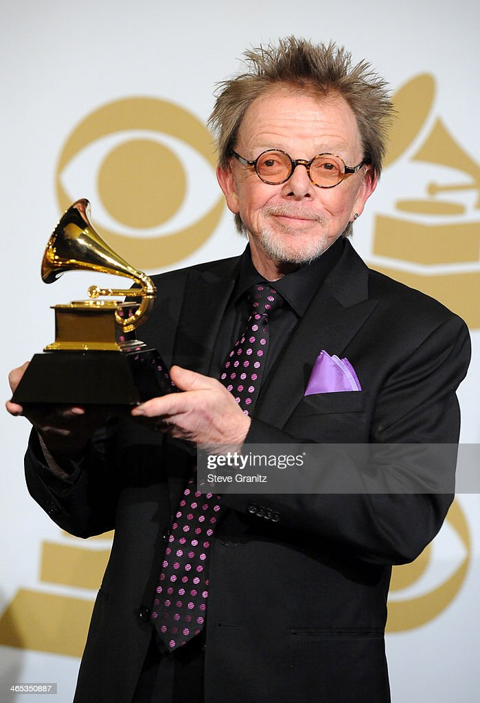 Musician Paul Williams poses in the press room during th 56th GRAMMY Awards at Staples Center on January 26, 2014 in Los Angeles, California.