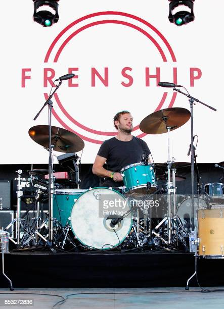 Musician performs with Frenship on Huntridge Stage during day 3 of the 2017 Life Is Beautiful Festival on September 24 2017 in Las Vegas Nevada