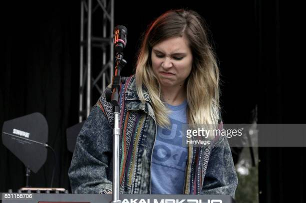 Musician performs with Frenship on the Panhandle Stage during the 2017 Outside Lands Music And Arts Festival at Golden Gate Park on August 13 2017 in...