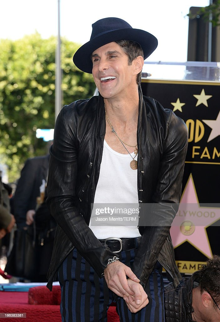 Musician Perry Farrell attends the ceremony honoring them with a Star on The Hollywood Walk of Fame on October 30, 2013 in Hollywood, California.