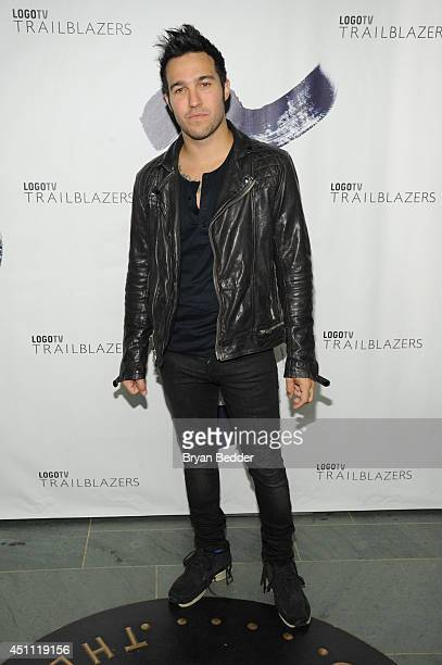 Musician Pete Wentz attends Logo TV's 'Trailblazers' at the Cathedral of St John the Divine on June 23 2014 in New York City