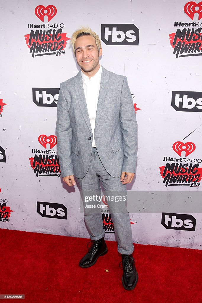 musician-pete-wentz-attends-the-iheartradio-music-awards-at-the-forum-picture-id518938636