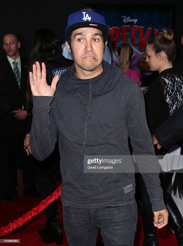 Musician Pete Wentz attends the premiere of Walt Disney Animation Studios' 'Wreck-It Ralph' at the El Capitan Theatre on October 29, 2012 in Hollywood, California.
