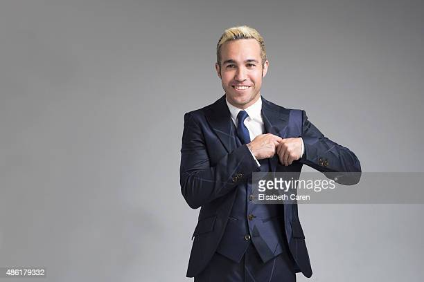 Musician Pete Wentz is photographed for Fault Magazine on May 11 2015 in Los Angeles California