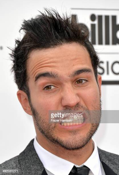 Musician Pete Wentz of Fall Out Boy attends the 2014 Billboard Music Awards at the MGM Grand Garden Arena on May 18 2014 in Las Vegas Nevada