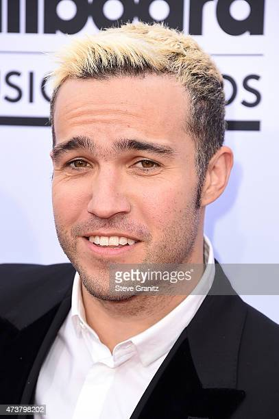 Musician Pete Wentz of Fall Out Boy attends the 2015 Billboard Music Awards at MGM Grand Garden Arena on May 17 2015 in Las Vegas Nevada