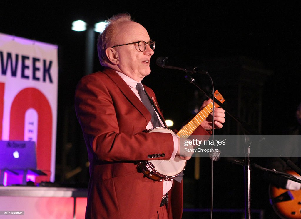 Musician Peter Asher performs onstage during BritWeek's 10th Anniversary VIP Reception & Gala at Fairmont Hotel on May 1, 2016 in Los Angeles, California.