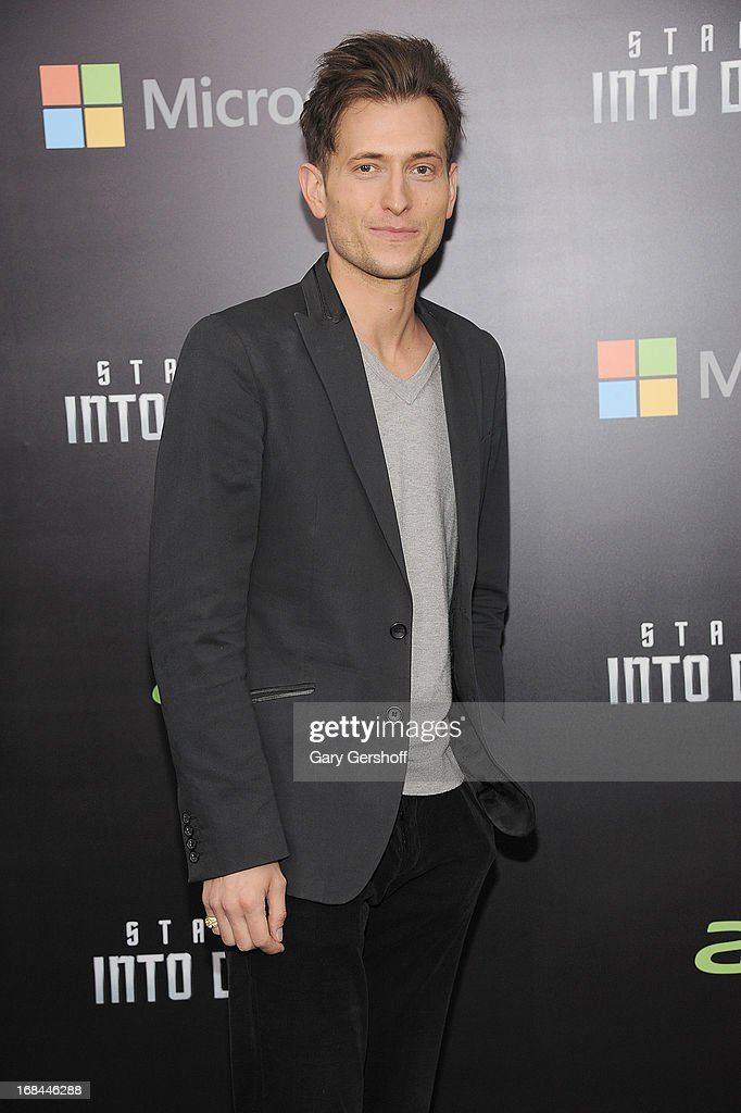 Musician Peter Cincotti attends the 'Star Trek Into Darkness' screening at AMC Loews Lincoln Square on May 9, 2013 in New York City.