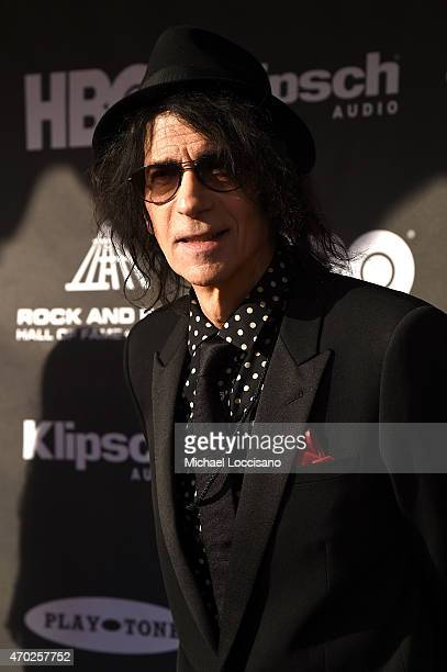 Musician Peter Wolf attends the 30th Annual Rock And Roll Hall Of Fame Induction Ceremony at Public Hall on April 18 2015 in Cleveland Ohio