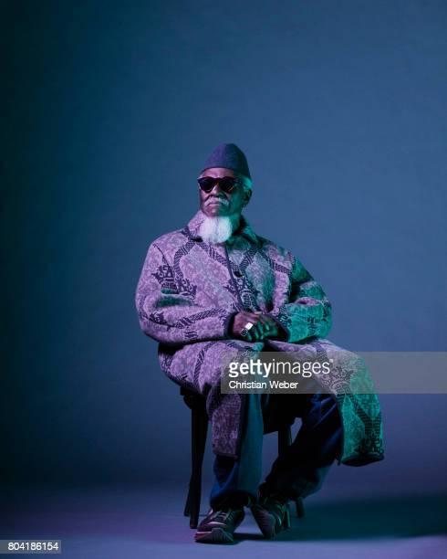 Musician Pharoah Sanders photographed for GQ Conde Nast on September 15 in New York City