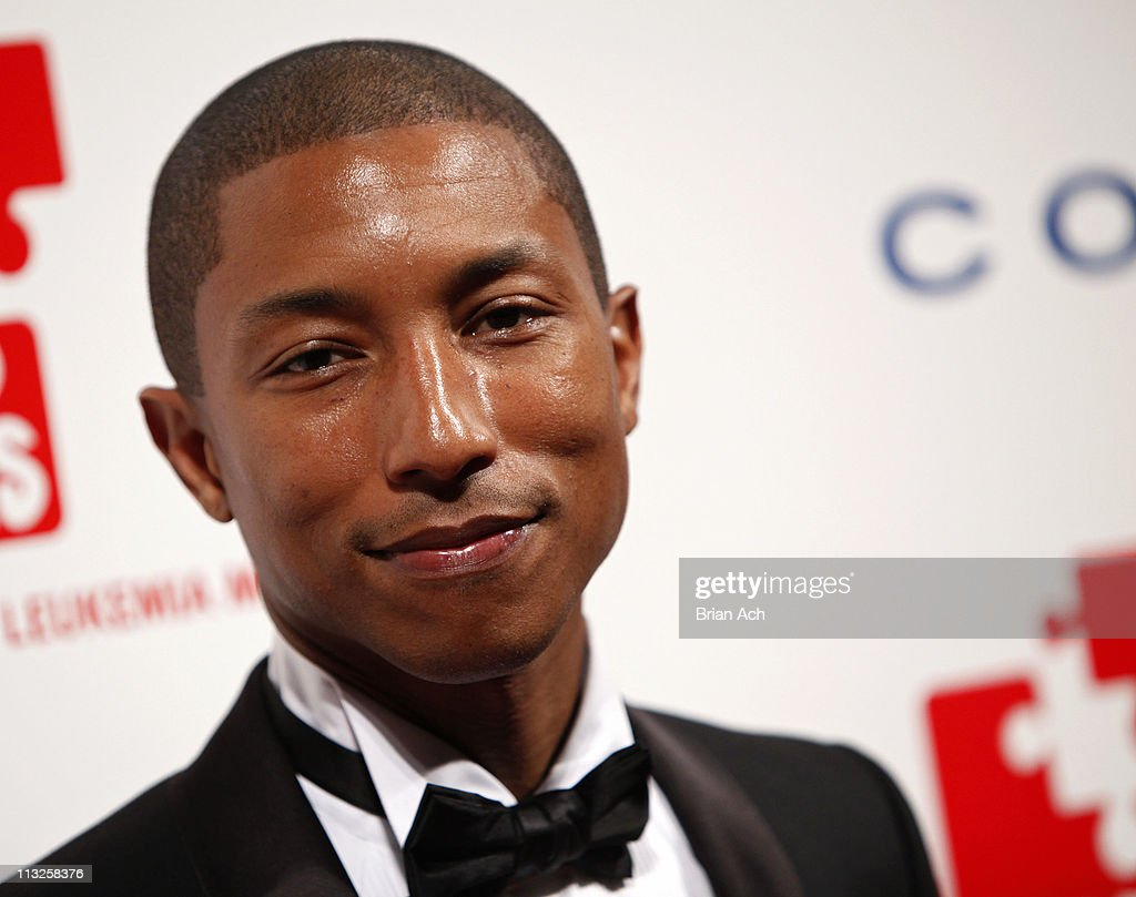 Musician Pharrell attends the 5th annual DKMS Gala at Cipriani Wall Street on April 28, 2011 in New York City.
