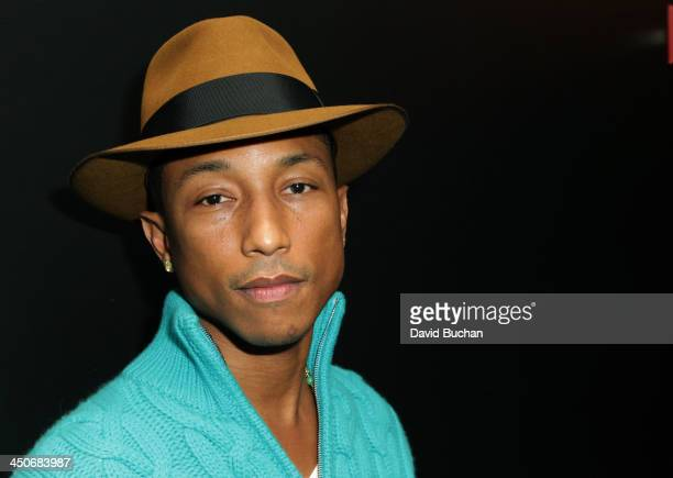 Musician Pharrell Williams attends TheWrap's Awards Foreign Screening Series 'Despicable Me 2' at the Landmark Theater on November 19 2013 in Los...