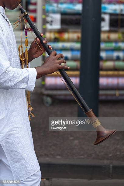 Musician playing the nadaswaram