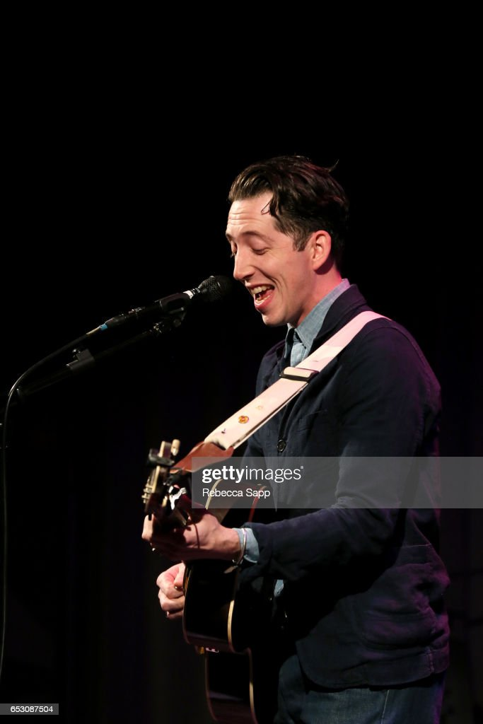 Musician Pokey LaFarge performs at The Man Behind 'Sun Records' A Conversation On The Creation of CMT's New Series Featuring Leslie Greif And Jonathan McHugh at The GRAMMY Museum on March 13, 2017 in Los Angeles, California.