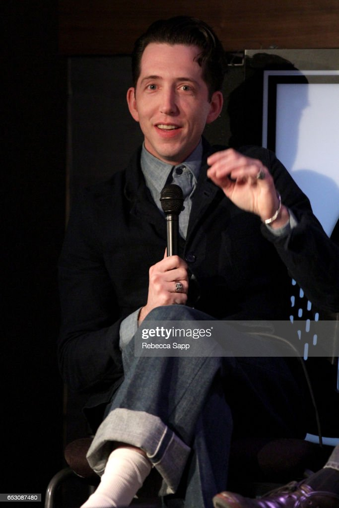 Musician Pokey LaFarge speaks onstage at The Man Behind 'Sun Records' A Conversation On The Creation of CMT's New Series Featuring Leslie Greif And Jonathan McHugh at The GRAMMY Museum on March 13, 2017 in Los Angeles, California.