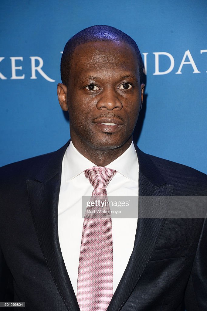 Musician Pras Michel arrives at the 5th Annual Sean Penn & Friends HELP HAITI HOME Gala benefiting J/P Haitian Relief Organization at Montage Hotel on January 9, 2016 in Beverly Hills, California.