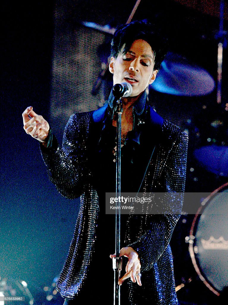 Musician Prince Performs At The Conga Room L.A. Live On March 29, 2009 In  Los