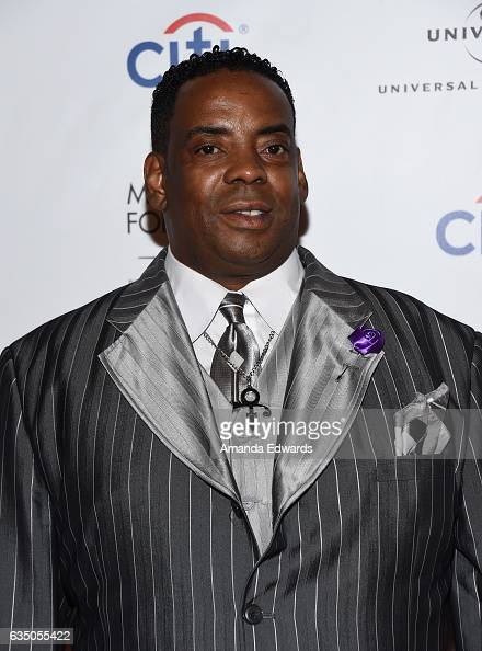 Musician Prince's brotherinlaw Maurice Phillips arrives at the Universal Music Group's 2017 GRAMMY After Party at The Theatre at Ace Hotel on...