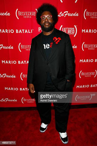 Musician Questlove attends The Launch Of EAT DRINK SAVE LIVES at Eataly Birreria on June 2 2014 in New York City Photo by Astrid Stawiarz/Getty...
