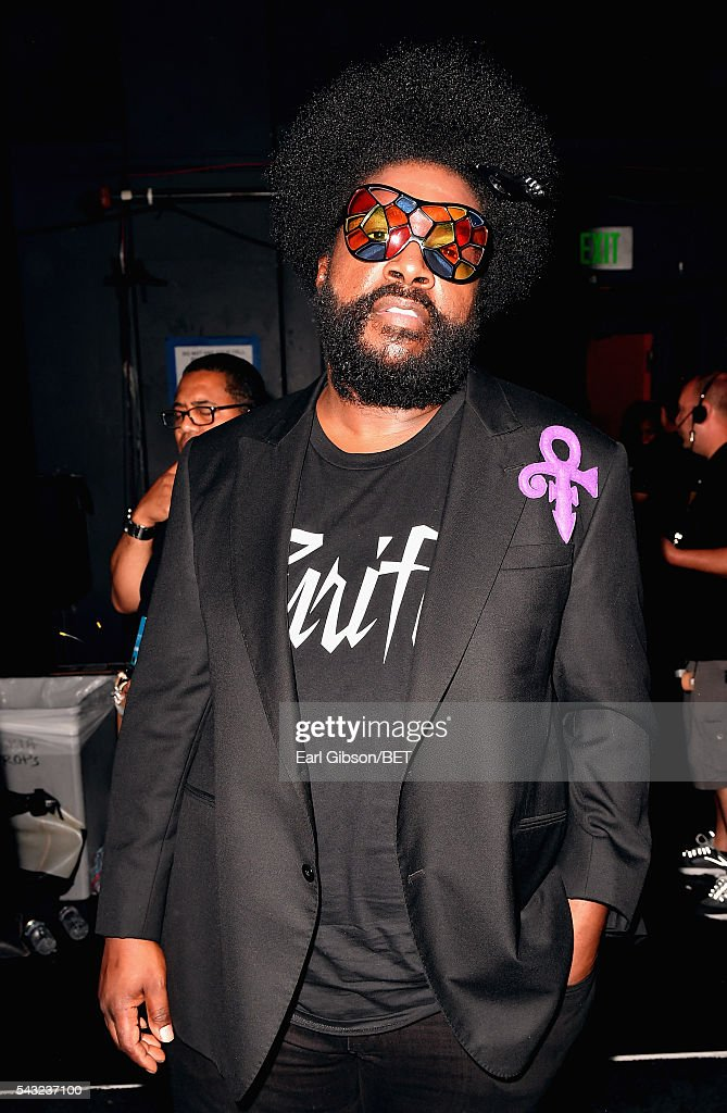 Musician <a gi-track='captionPersonalityLinkClicked' href=/galleries/search?phrase=Questlove&family=editorial&specificpeople=537550 ng-click='$event.stopPropagation()'>Questlove</a> of The Roots attends the 2016 BET Awards at the Microsoft Theater on June 26, 2016 in Los Angeles, California.
