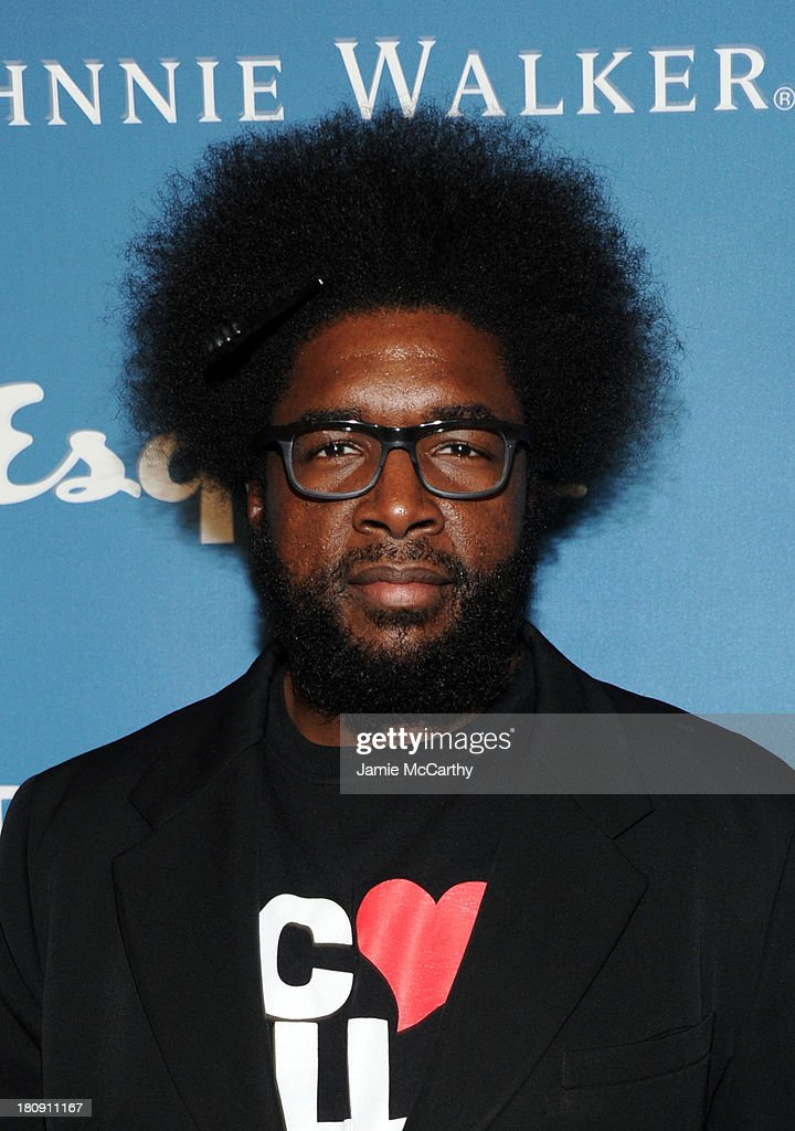 Musician <a gi-track='captionPersonalityLinkClicked' href=/galleries/search?phrase=Questlove&family=editorial&specificpeople=537550 ng-click='$event.stopPropagation()'>Questlove</a> of The Roots attends the Esquire 80th anniversary and Esquire Network launch celebration at Highline Stages on September 17, 2013 in New York City.