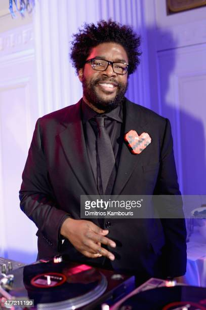 Musician Questlove performs at the Endometriosis Foundation of America's 6th annual Blossom Ball hosted by Padma Lakshmi and Tamer Seckin MD at 583...
