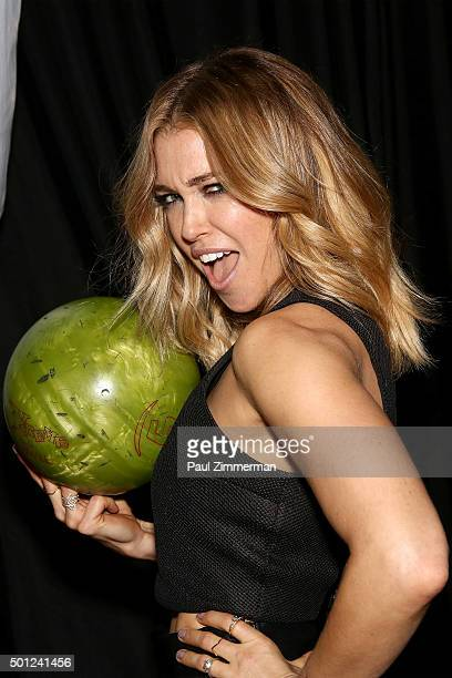 Musician Rachel Platten attends TJ Martell Foundation's 16th Annual New York Family Day at Brooklyn Bowl on December 13 2015 in New York City